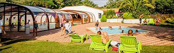 Camping ile de r la flotte 4 toiles vacances mobil - Camping ile de re avec piscine couverte ...