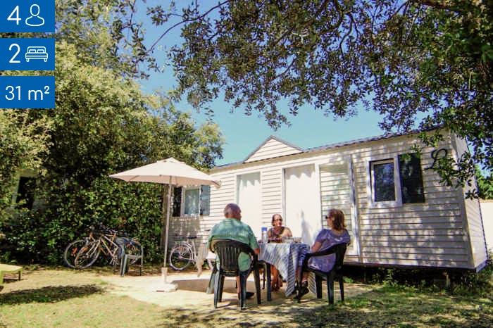 Alquile un mobil-home con su familia en la Ile de Ré