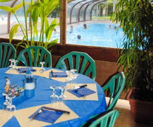 camping île de ré avec restaurant
