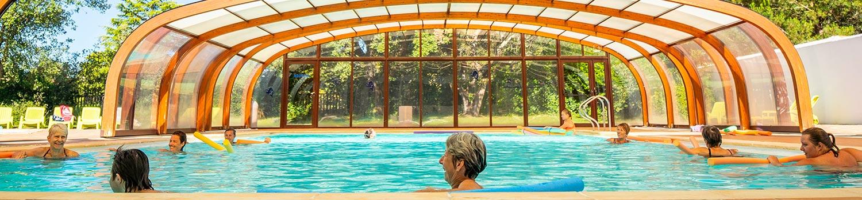 Camping ile de r avec piscine piscine couverte et - Camping avec piscine couverte chauffee ...