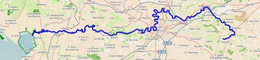 carte Sèvre Niortais